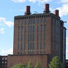 Ångkraftverket från en ståtlig vy. Foto: Pressbild