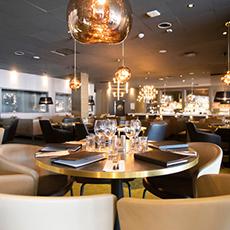 Dukat bord på Boca restaurang och bar. Foto: Pressbild