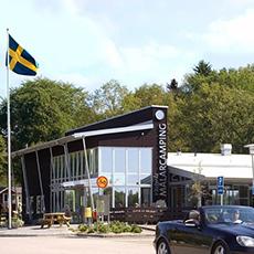 Huvudbyggnaden på First Camp Västerås. Fotograf: Clifford Shirley.