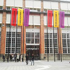 Entrén till Karlsgatan 2. Foto: Pressbild