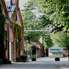 Ingången till Koppar Restaurang och Konferens. Foto: Pressbild