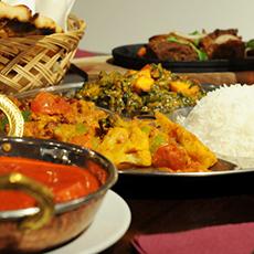 Indisk mat från Laxmi. Foto: Pressbild