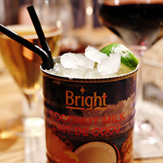 En drink från Nom i Västerås. Foto: Pressbild/ Vitae Stilo