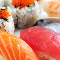 Sushibitar från Soya Sushi. Foto: Pressbild
