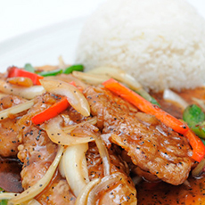 Asiatisk mat från Spicy Hot. Foto: Pressbild