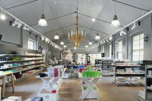Outlet-shopping vid Skultuna Messingsbruk i Västerås. Foto: Pressbild