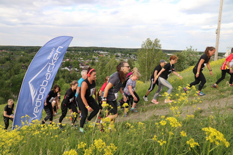 Westeras trail run vid Vedbobacken i Västerås. Foto: Pressbild