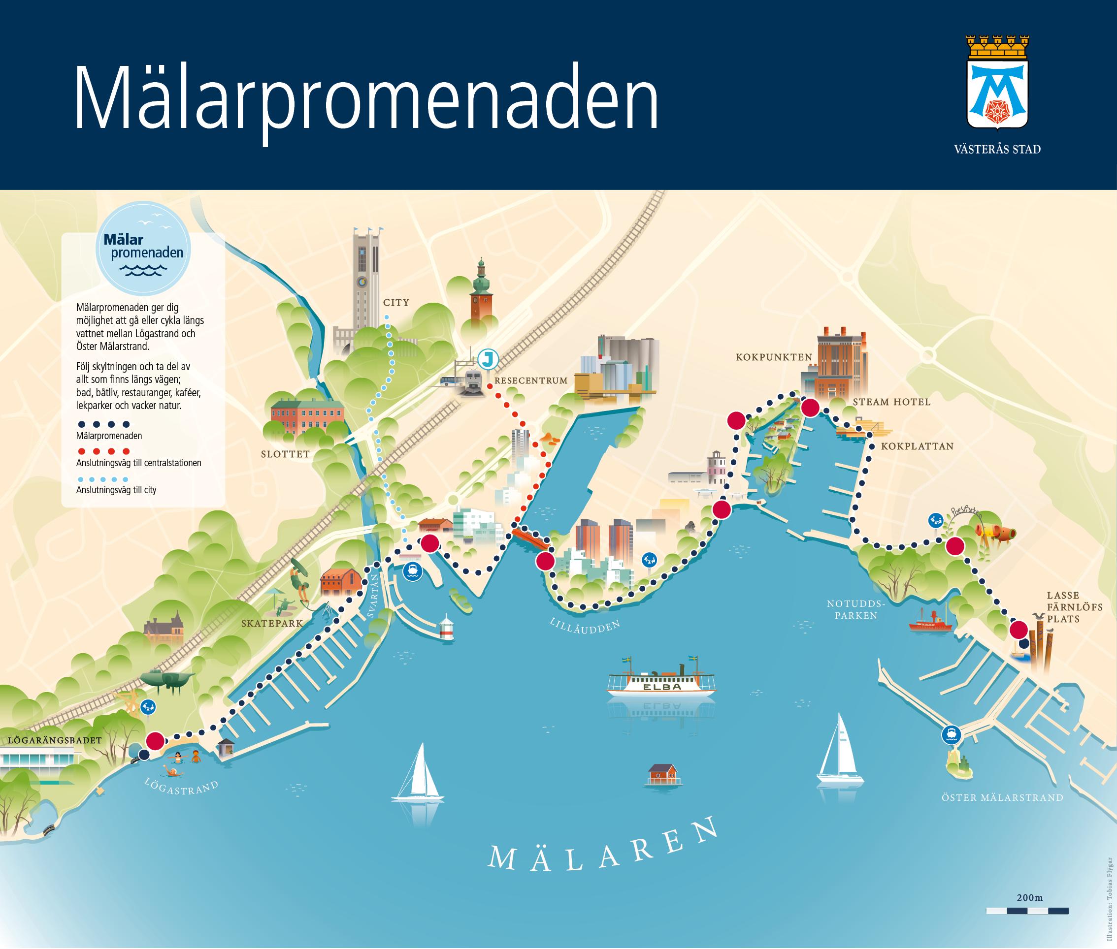 Skylt_Karta Mälarpromenaden - PDF