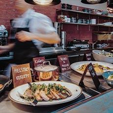 Ett serveringsfat på restaurang B26. Foto: Pressbild