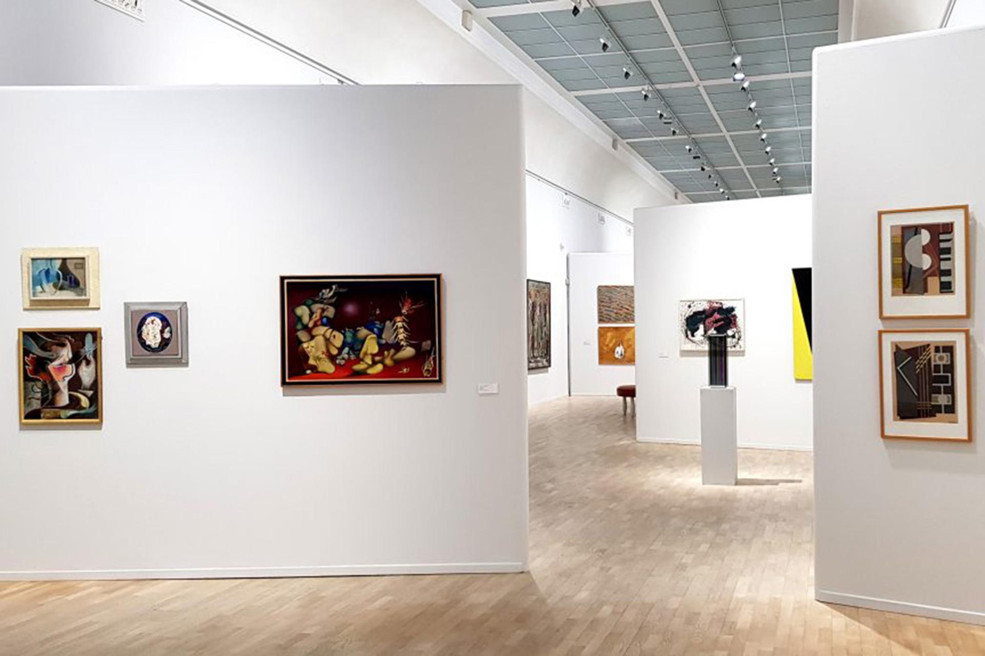Konst inne på Norrköpings Konstmuseum