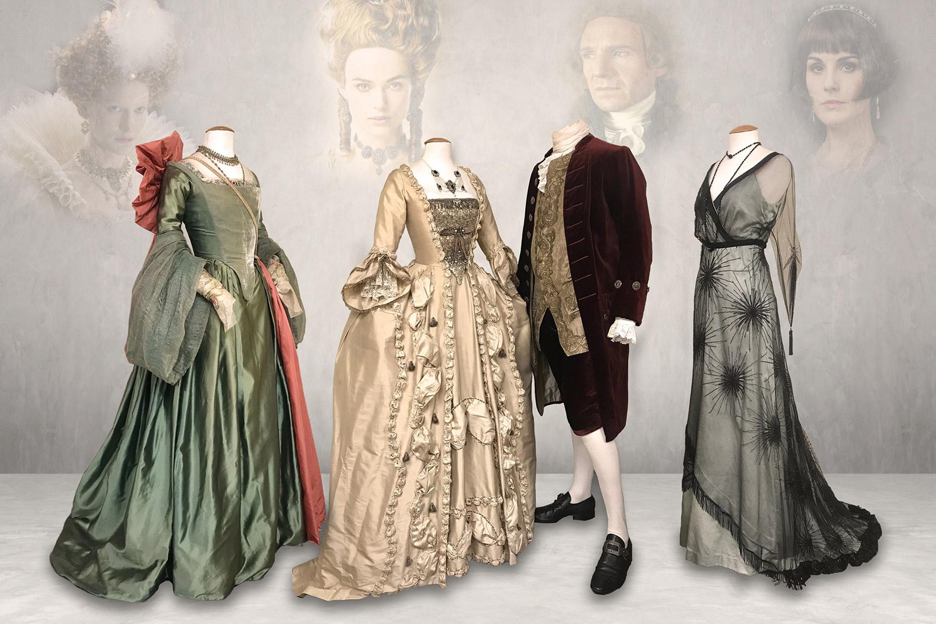 """Kostymer från utställningen """"Dressed"""" i Örebro"""