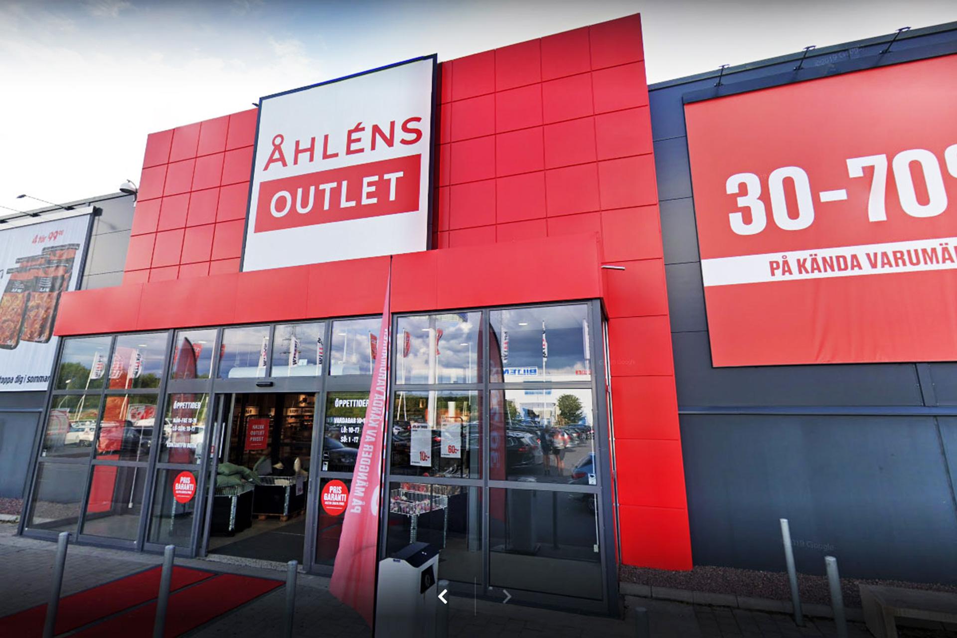 Åhlens Outlet i Västerås. Foto: Pressbild