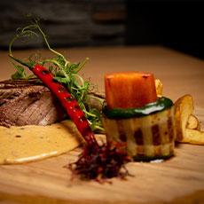 Mat från Restaurang solsidan. Foto: Pressbild