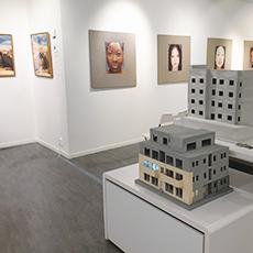 Konst inne på Galleri SoHo. Foto: Pressbild