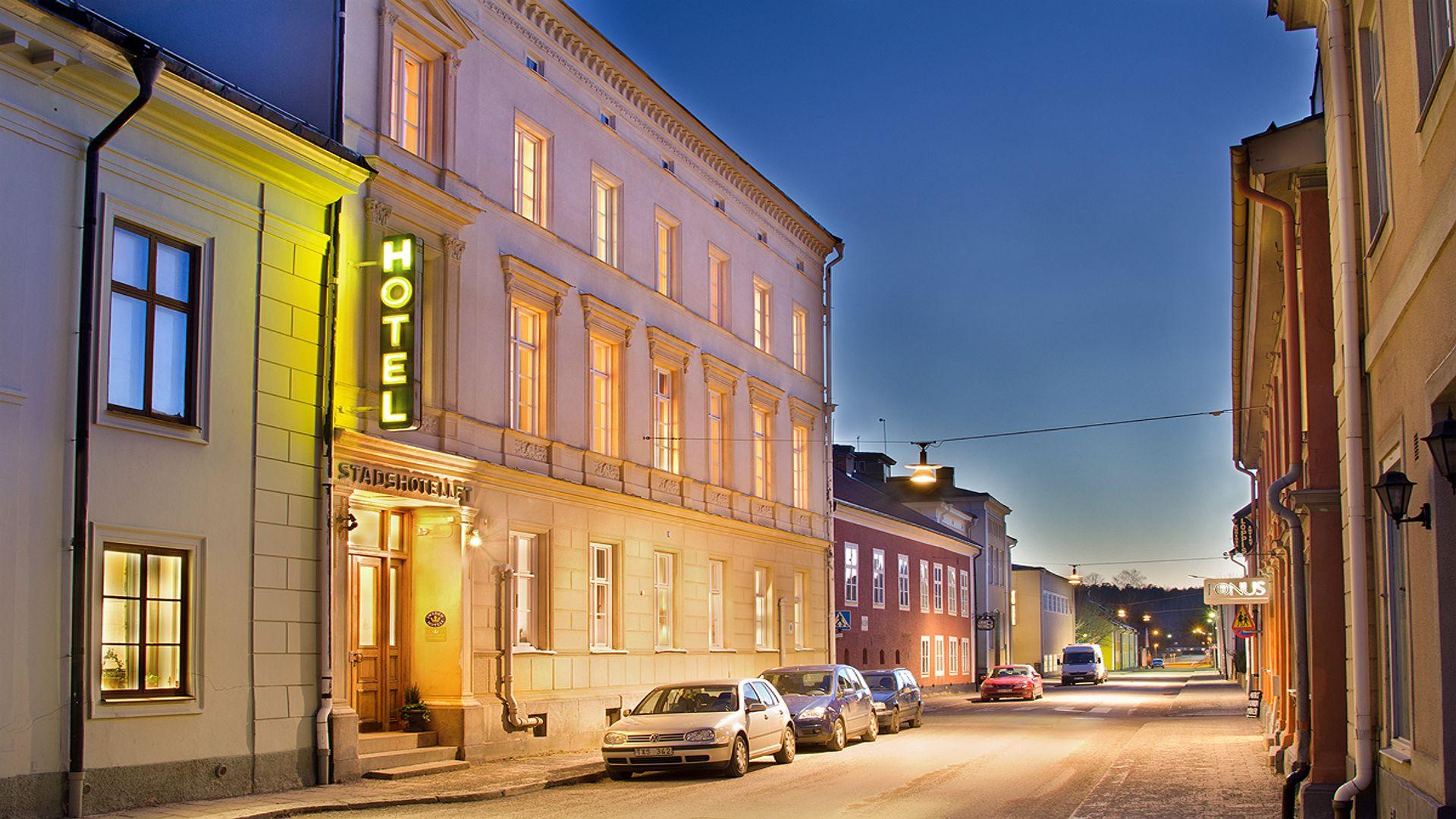 Arboga stadshotell. Fotograf: Pressbild