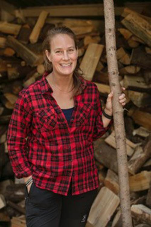 Ägaren av Kolarbyn, Eco-Lodge Malin Briuce. Fotograf: Pressbild