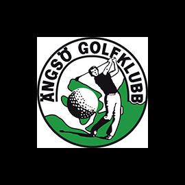 Ängsö Golfklubb. Logotyp, Illustration