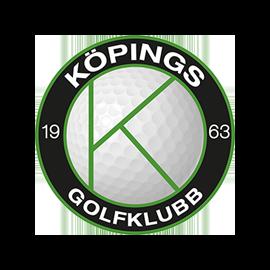 Logga Köpings Golfklubb.