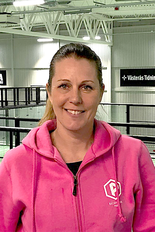 Porträttbild på Åsa Svensson, fd tennisproffs. Pressbild