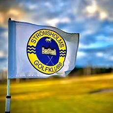 Golfflagga på Strömsholms GK. Foto: Pressbild