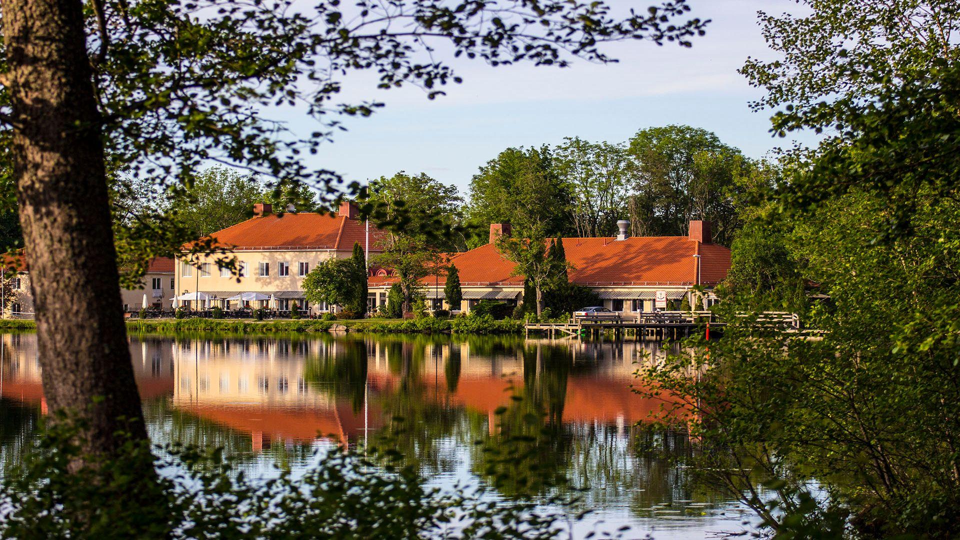 Utsikt över Åsby Hotell i Hallstahammar. Fotograf: Pressbild