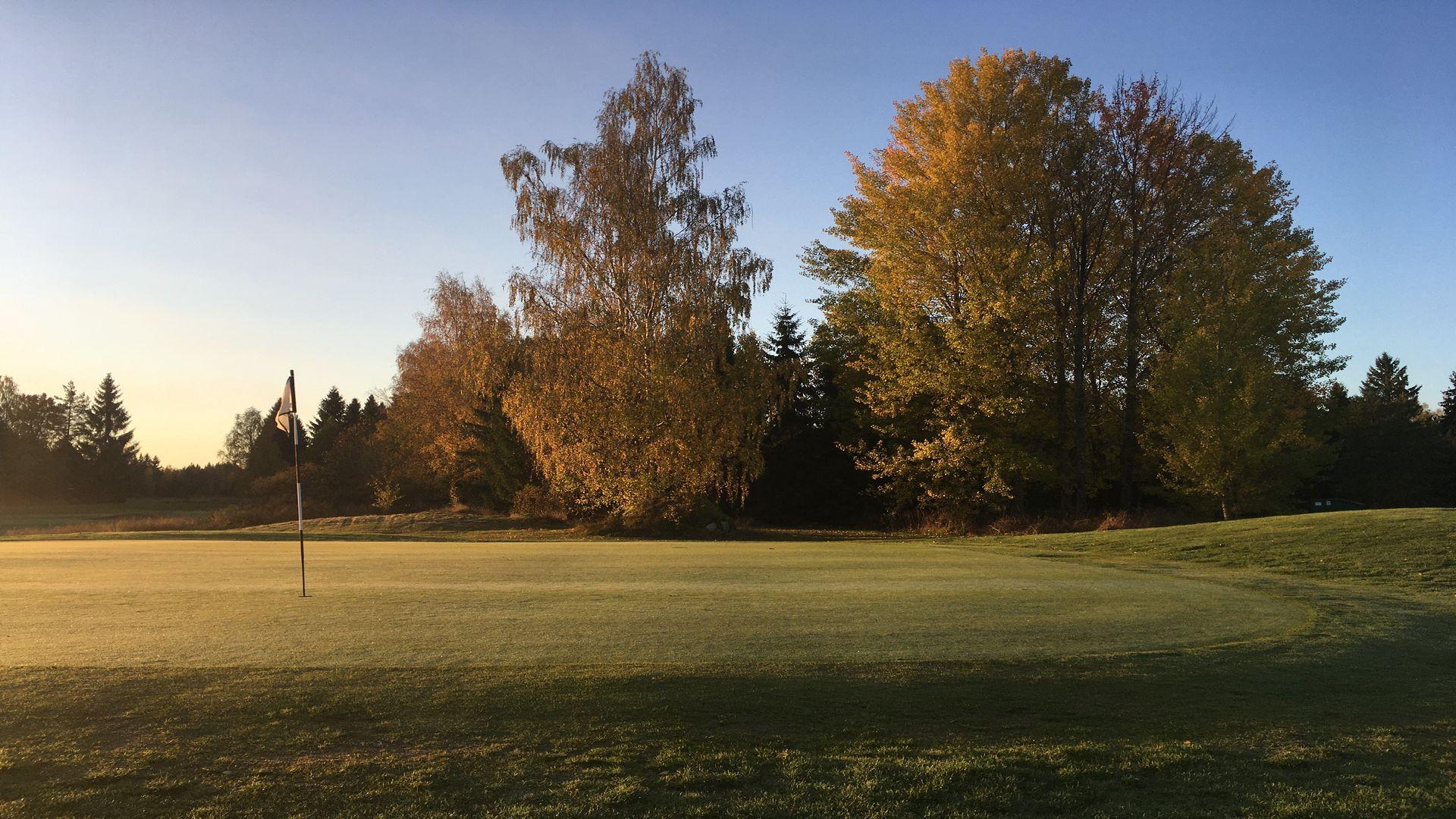 Vacker golfbana . Fotograf: Pressbild kungsörstorp
