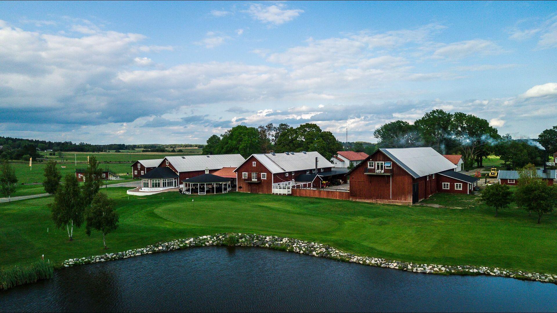 Vy över Orresta Golfklubb. Foto: Pressbild