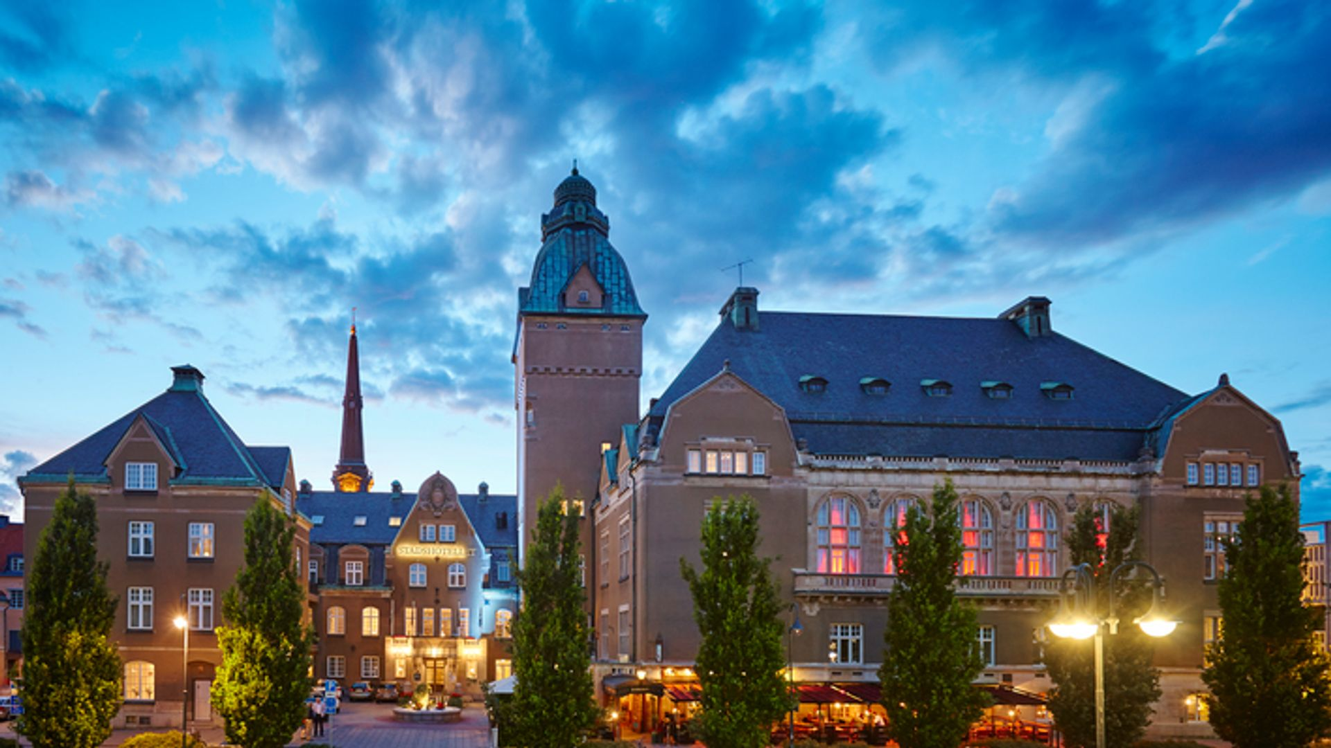 Utomhusbild på Elite stadshotellet Västerås. Foto: Pressbild