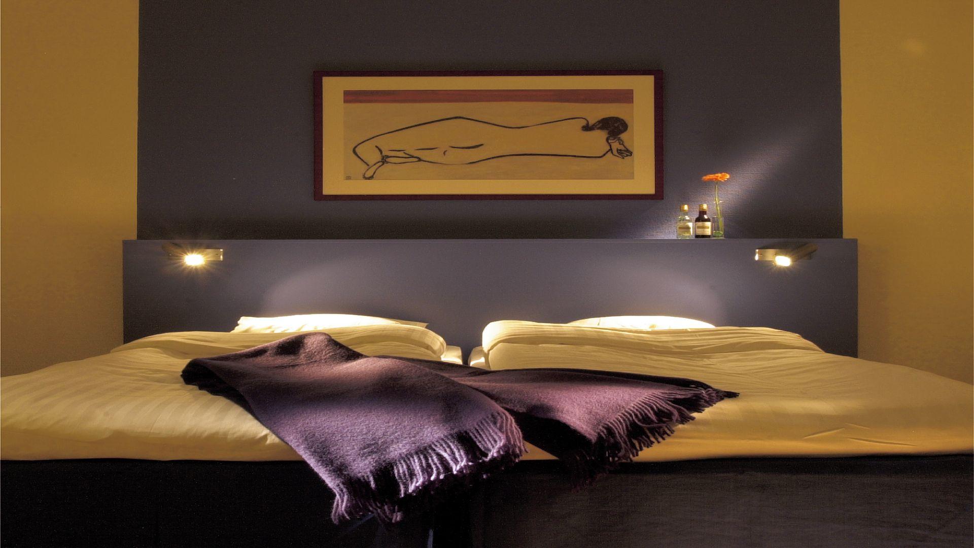 Hotellrum på clarion collection hotel. Fotograf: pressbild