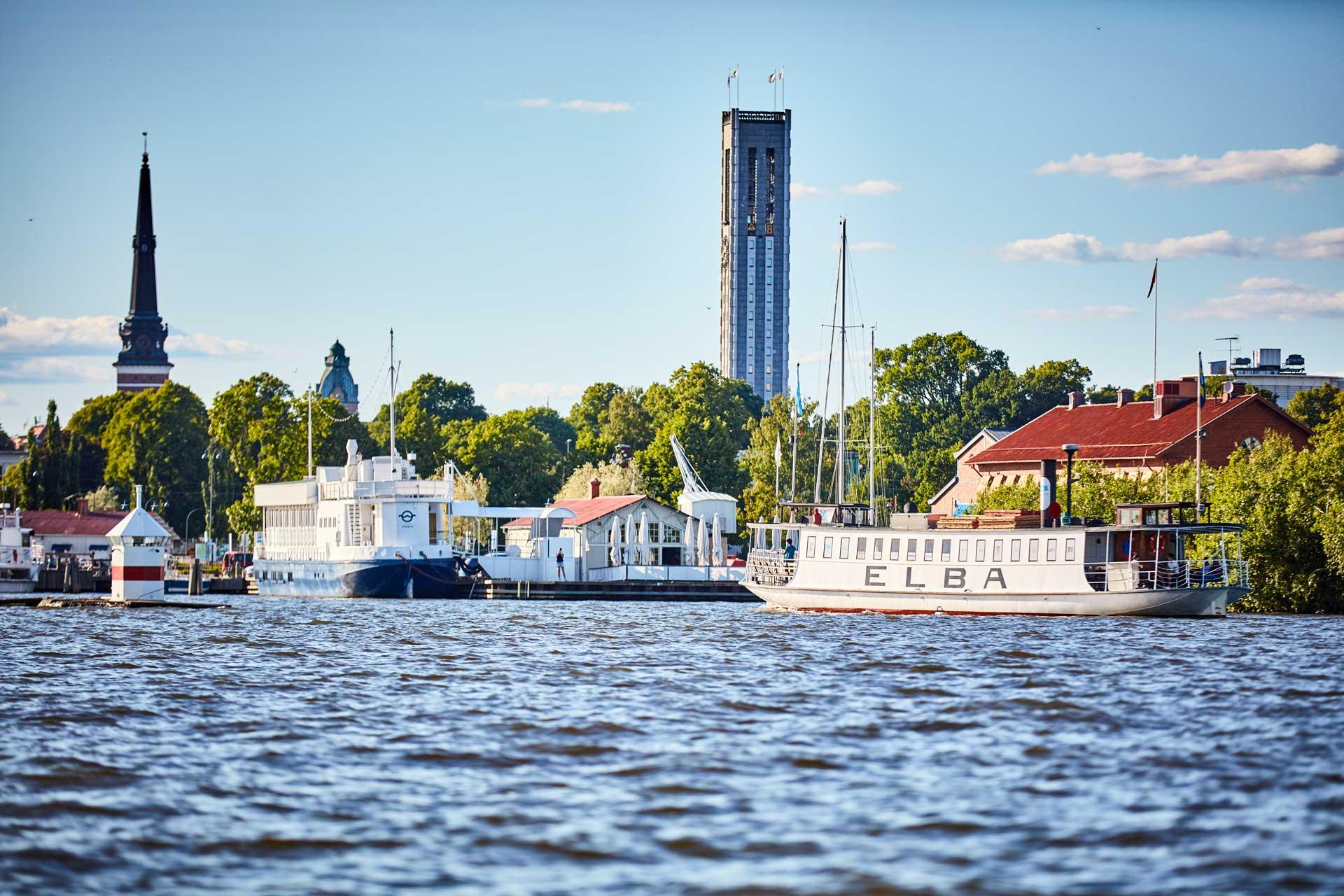 Västerås Mälarliv Foto: BildN