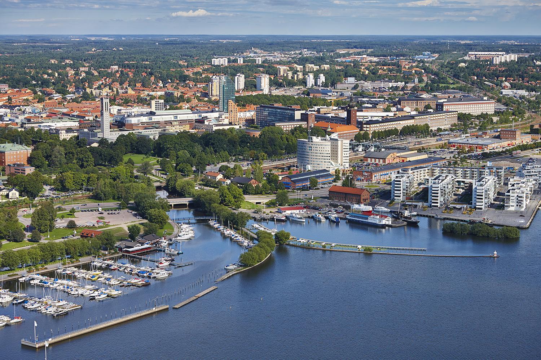 Västerås vy. Foto: Pia Nordlander