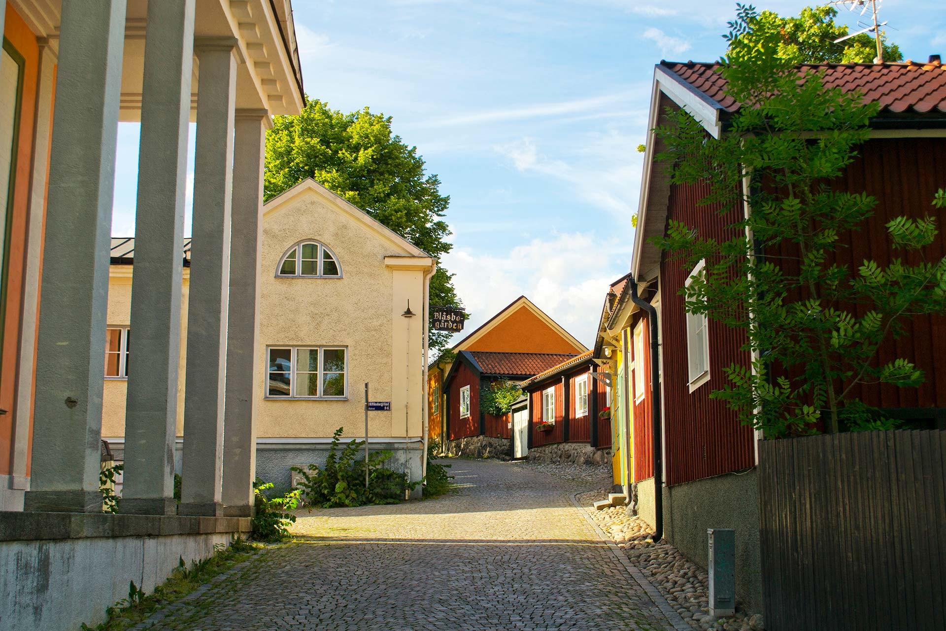Kyrkbacken i Västerås. Fotograf: Mostphotos