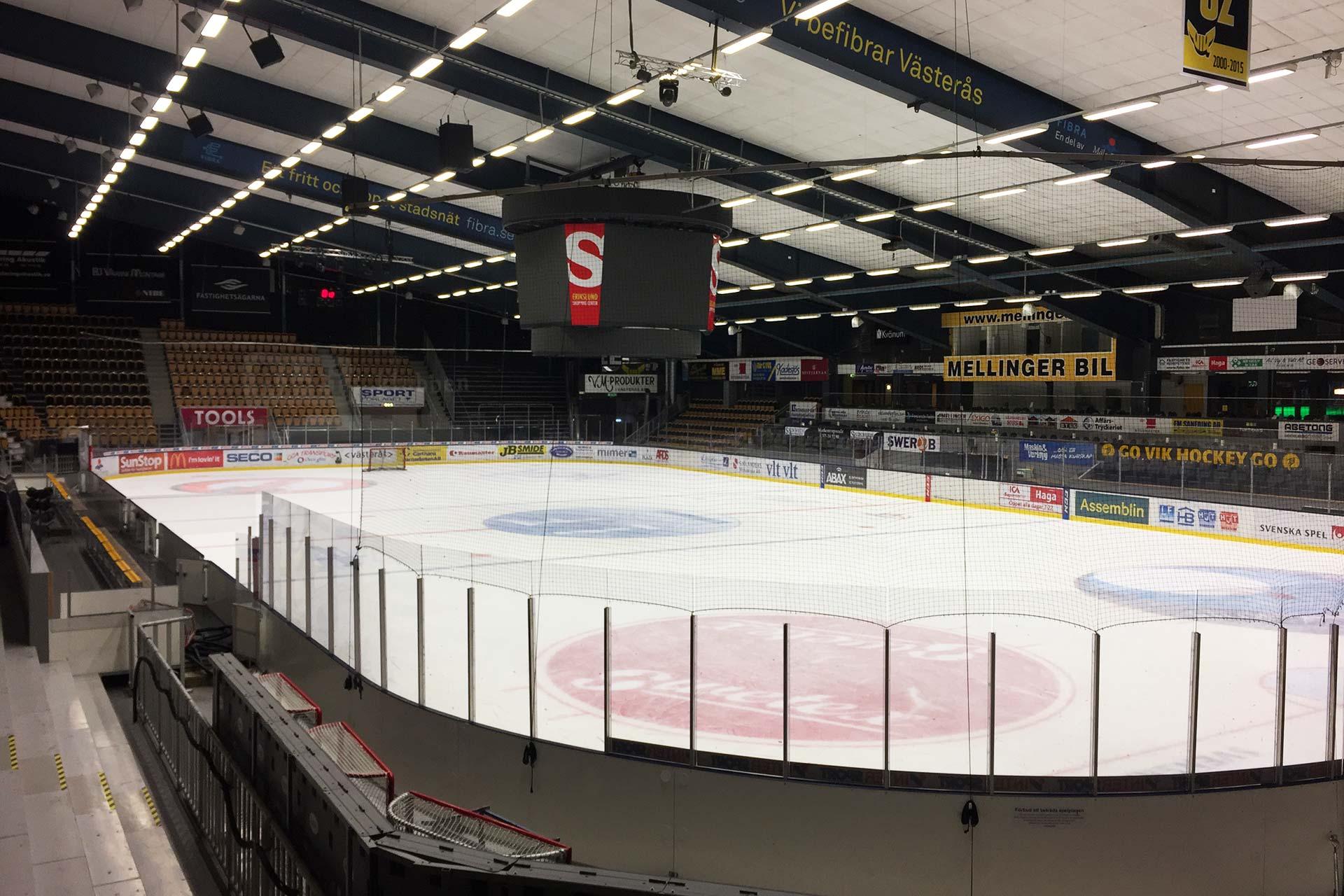 ABB Arena Nord i VÄsterås. Fotograf: Pressbild