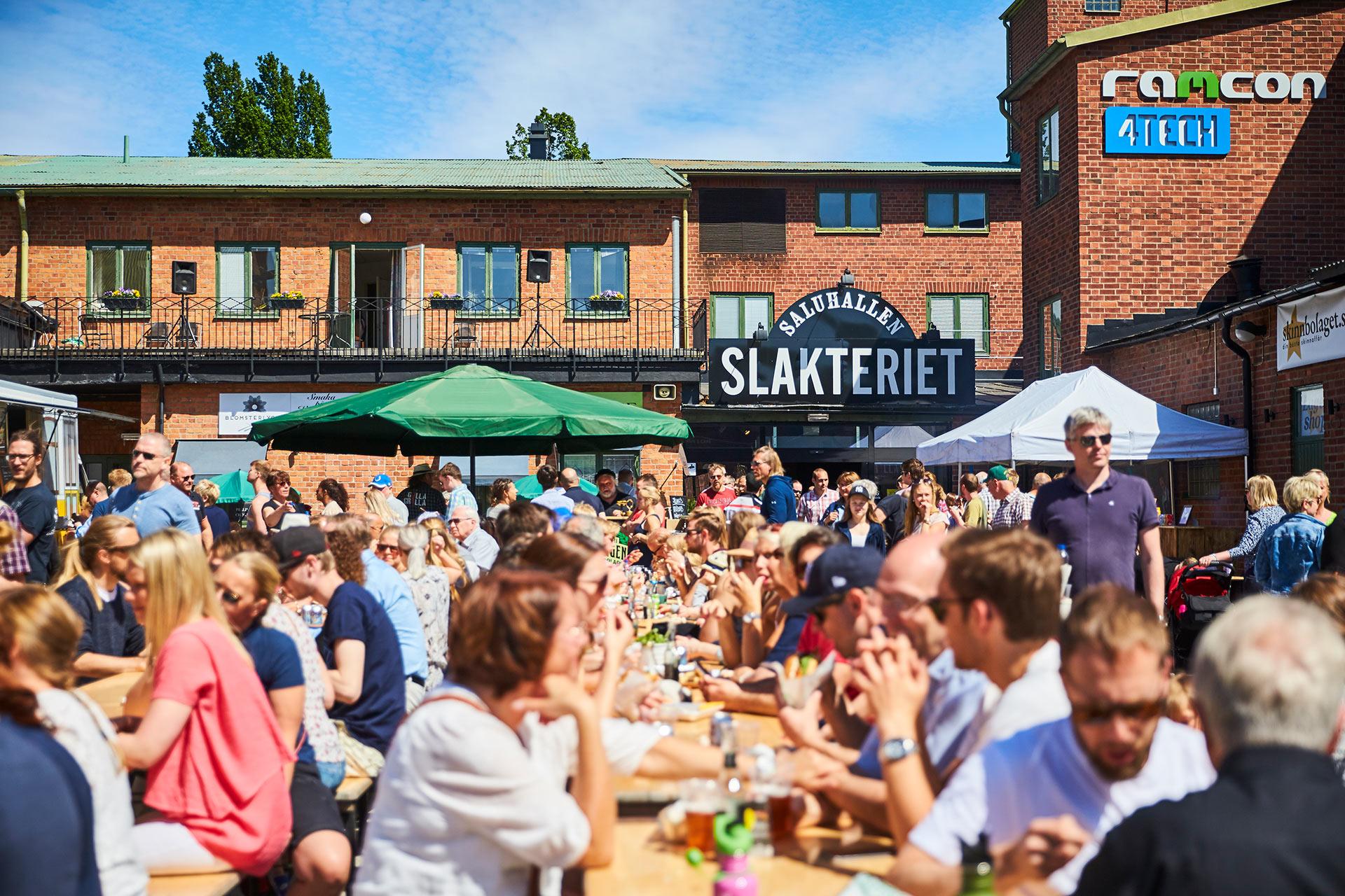 Saluhallen Slakteriet i Västerås. FOtograf: Pressbild