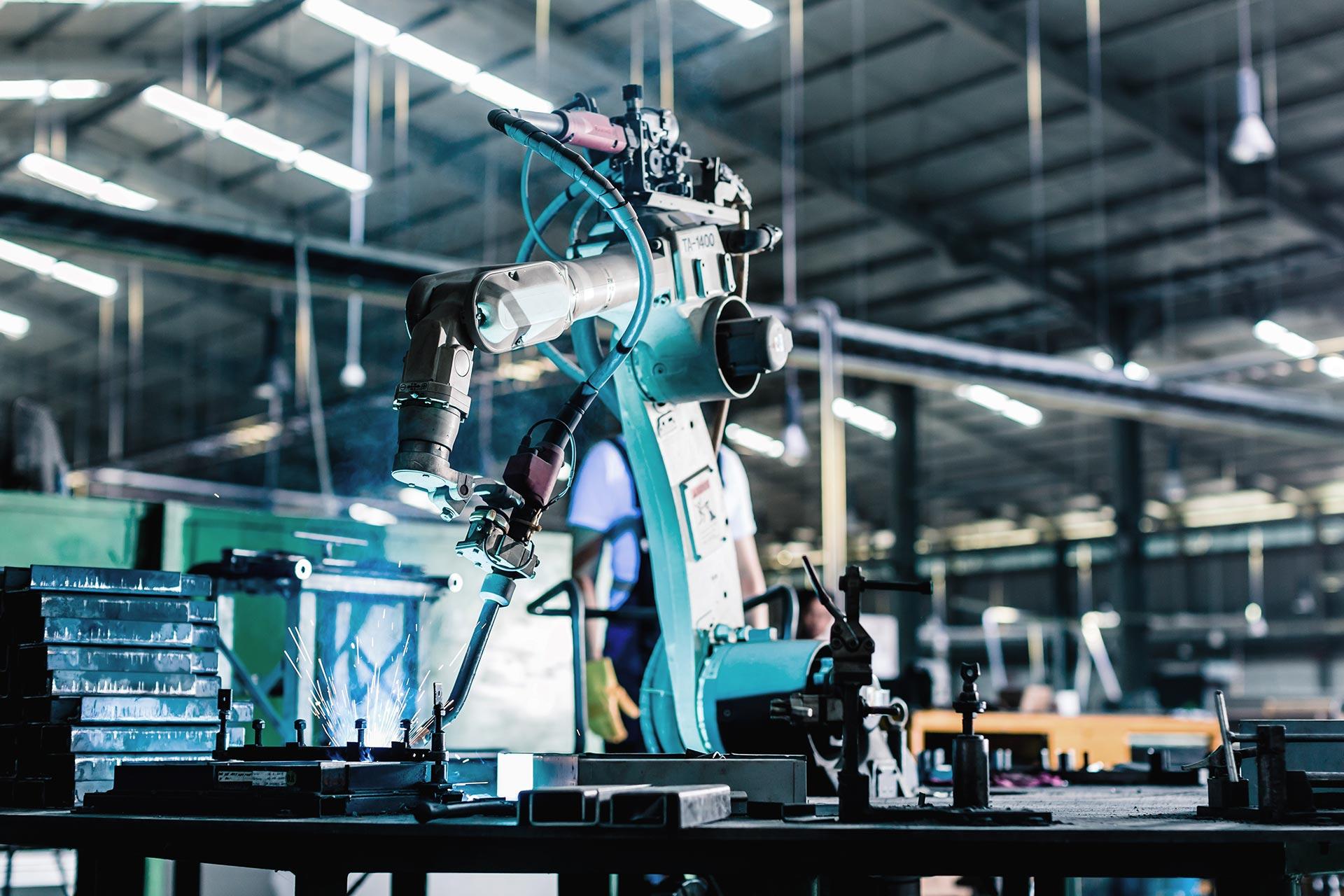 Robot i produktion. Fotograf: Mostphotos