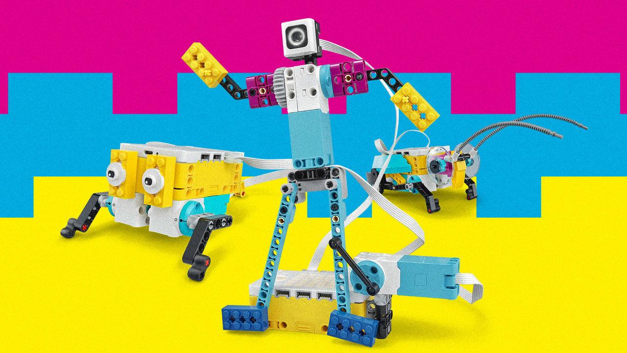 LEGO Spike programmering hos expectrum i Västerås. Fotograf: Pressbild Lego