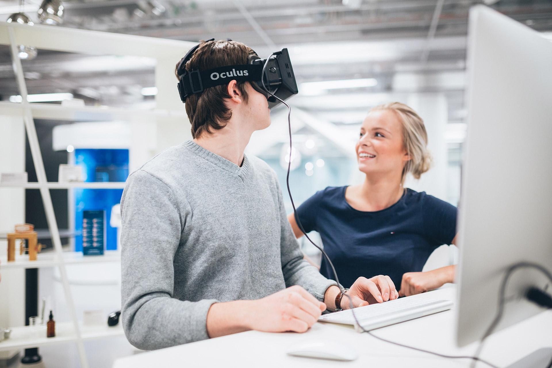 After School med VR och AR hos expectrum i Västerås. Fotograf: Af Adam