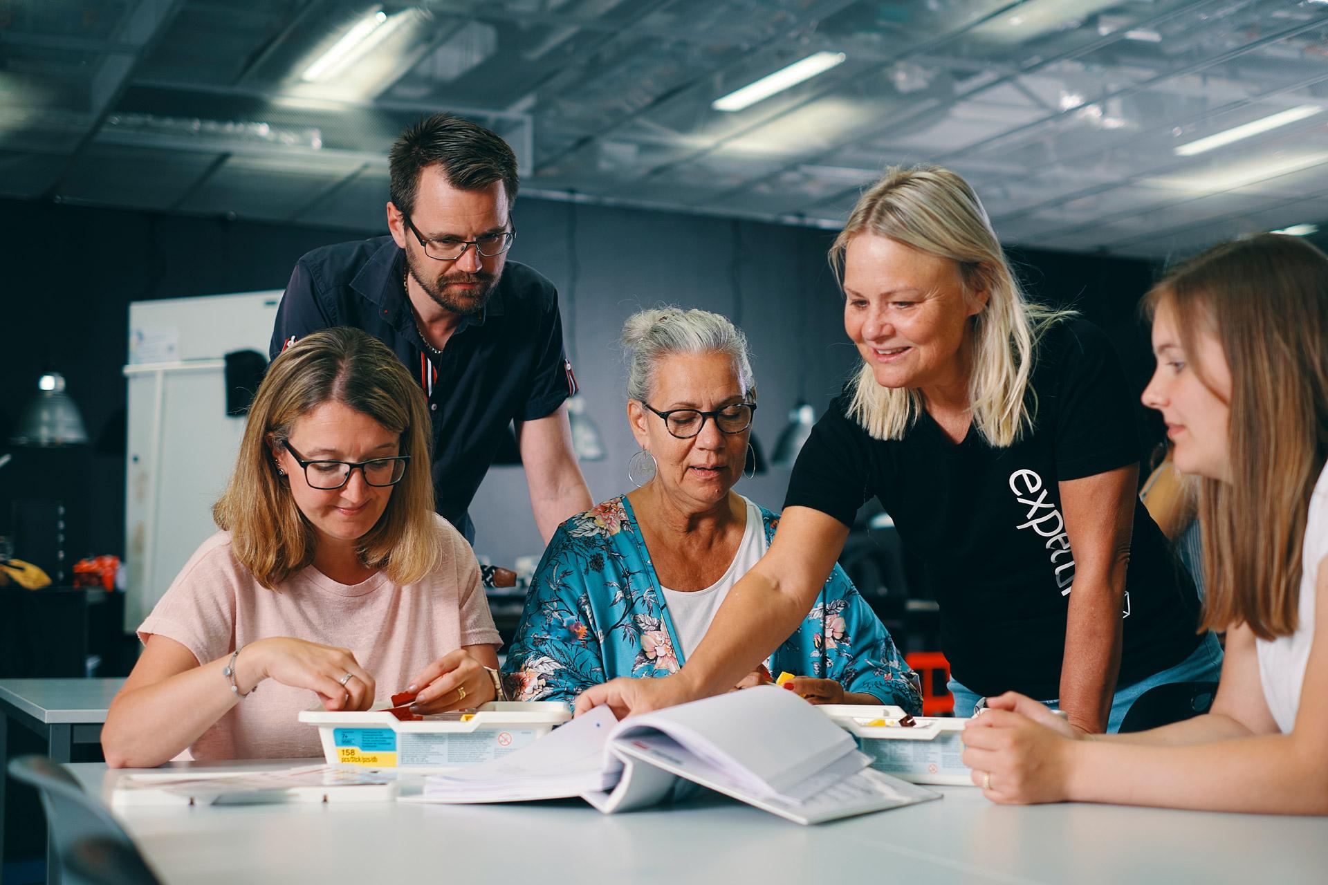Handledarledd grupp lärare hos expectrum i Västerås. Fotograf: Af Adam