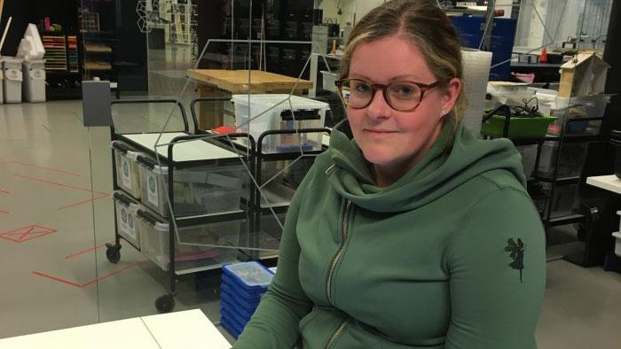 Teknikpilot hos expectrum i Västerås. Foto: Expectrum