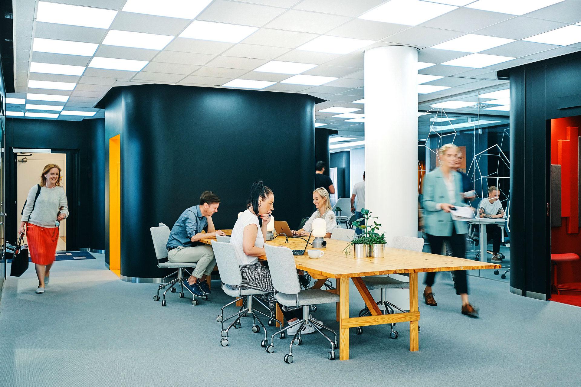 Coworking Flex medlemskap hos expectrum i Västerås. Fotogragf: Af Adam