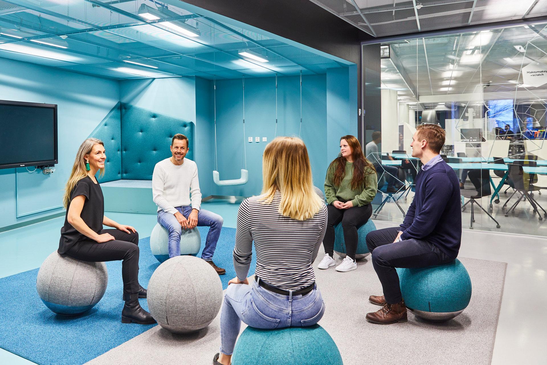 Möte i Create Hub hos Expectrum i Västerås. Fotograf: Pia Nordlander
