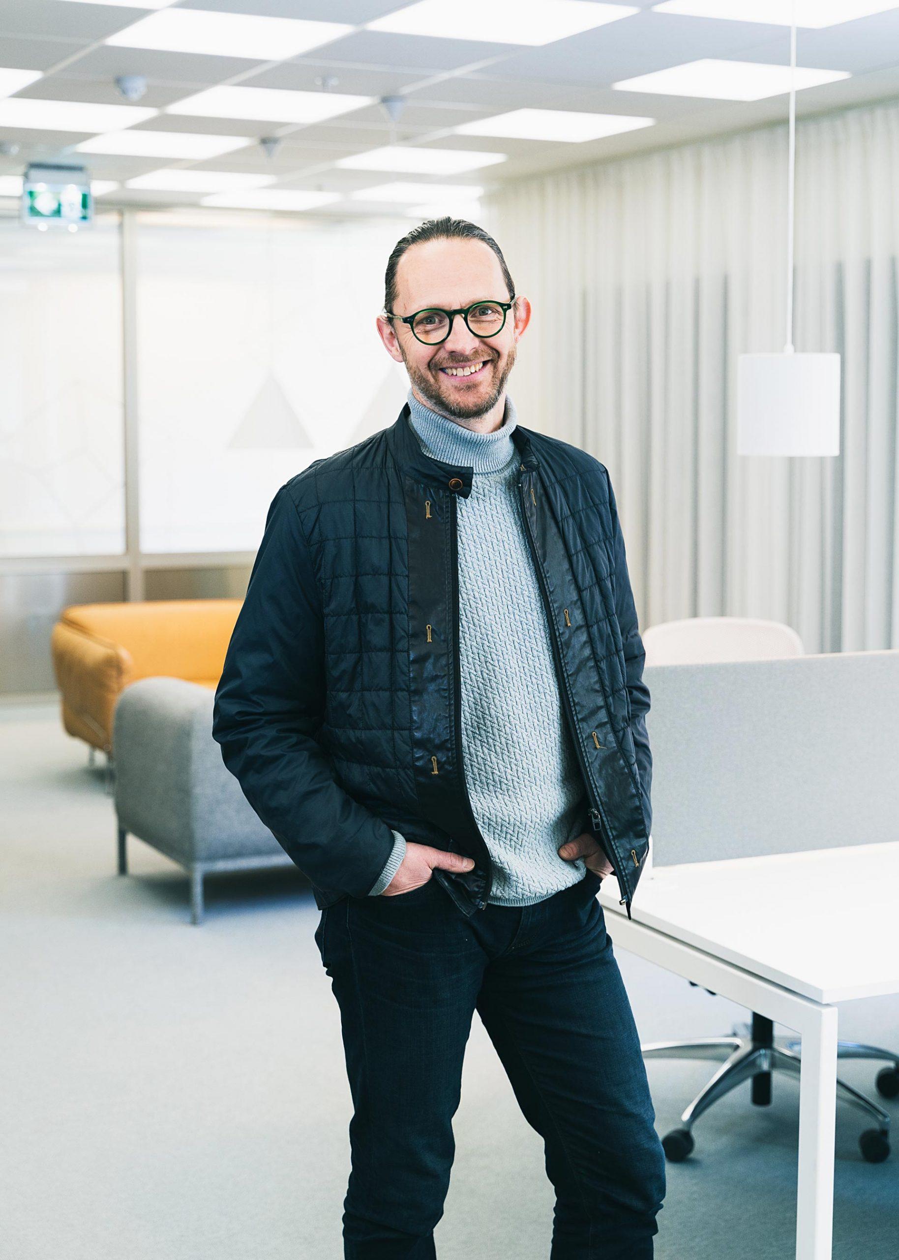 Patrik Rehn, rådgivare Nyföretagarcentrum. Fotograf: Matilda Hildingsson