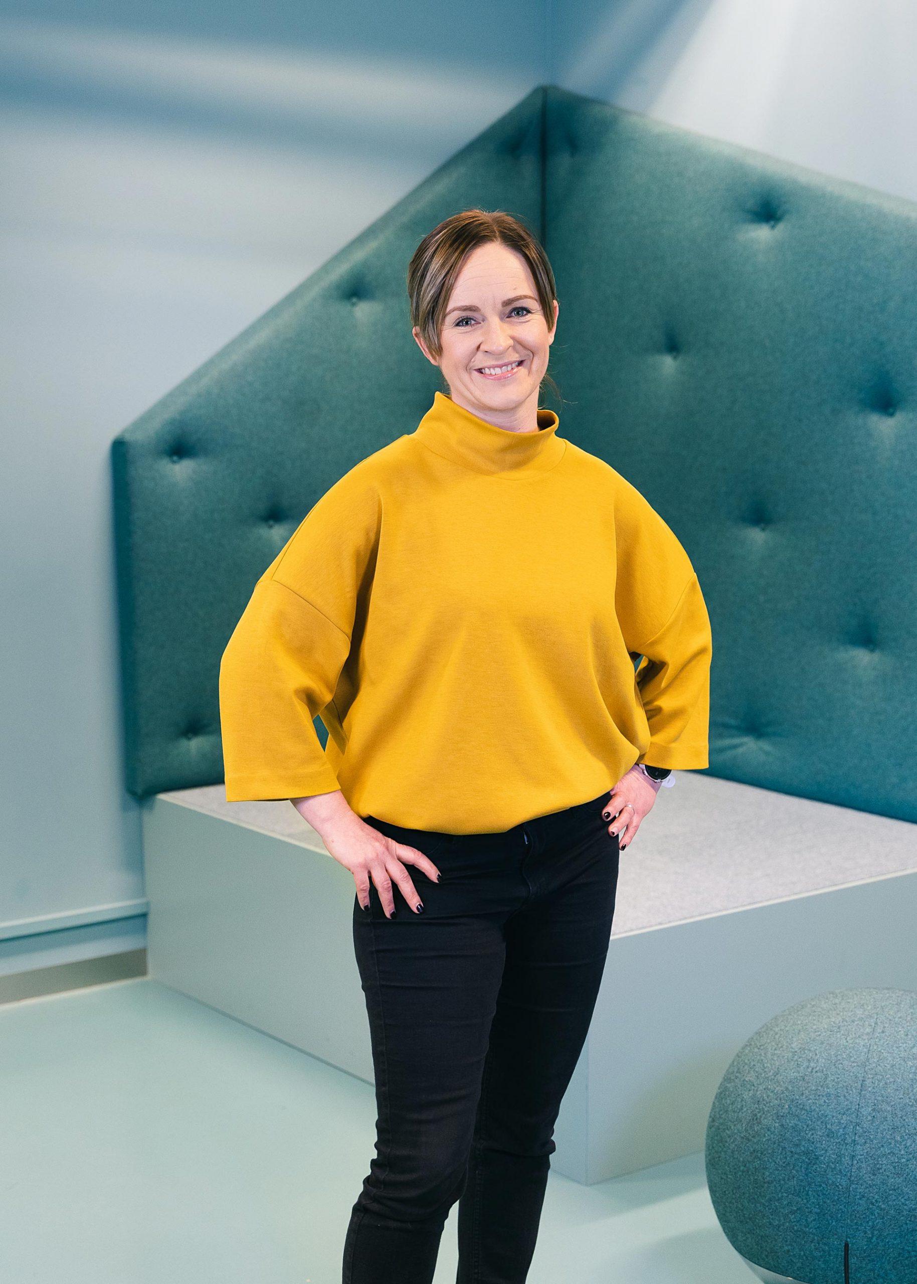 Liz Danielsson, domänexpert Kontek. Fotograf: Matilda Hildingsson