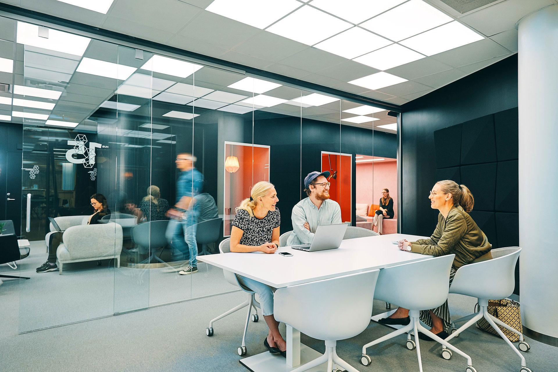Coworking medlemskap hos expectrum i Västerås. Fotograf: Af Adam